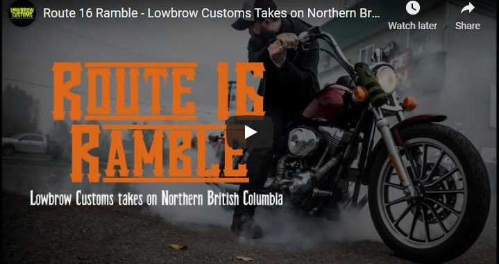 Lowbrow Customs Route 16 Ramble