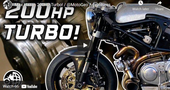 MotoGeo - Max Hazan 200 HP Turbo