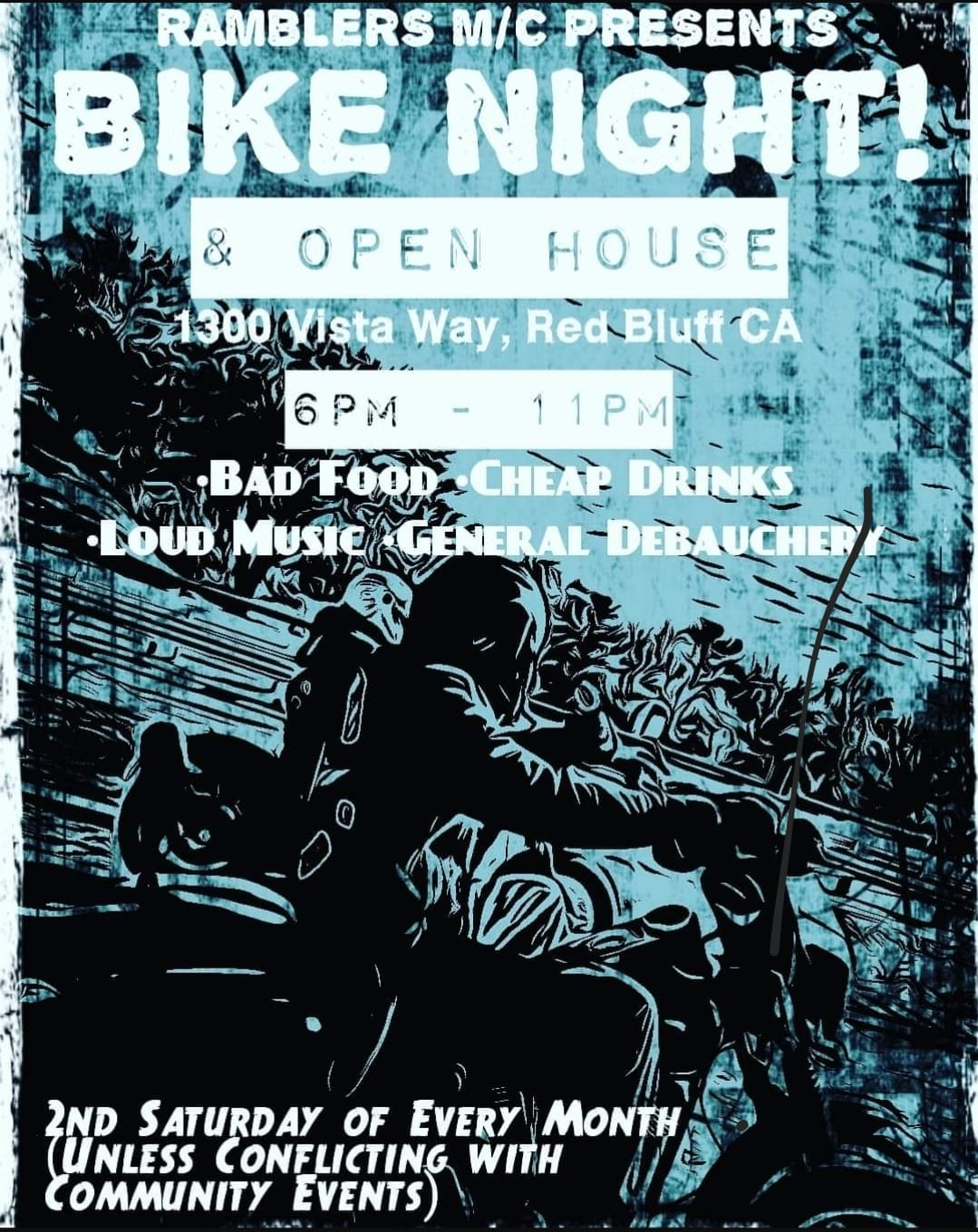 Ramblers MC Bike Night