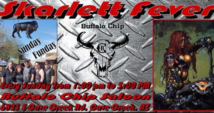 Skarlett Fever at Buffalo Chip Saloon Funday Sunday