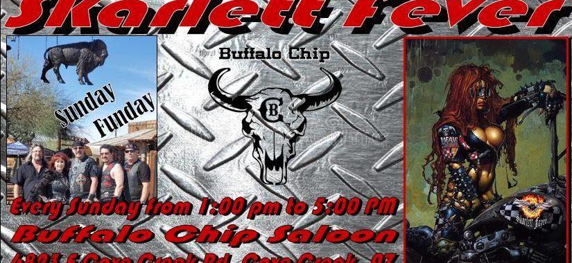 Skarlett Fever at Buffalo Chip Saloon Funday Sunday