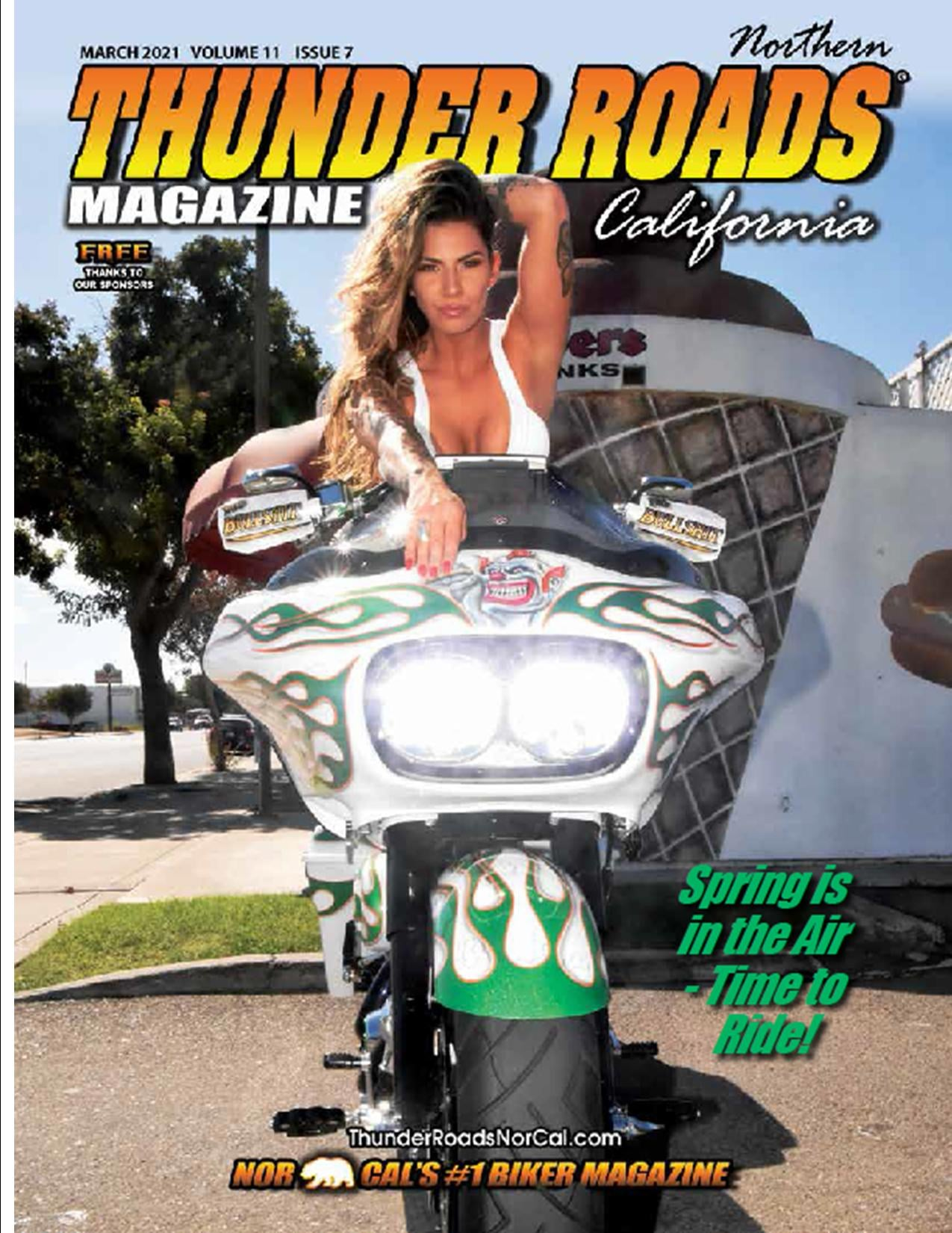 Thunder Roads Northern California March 2021 Issue