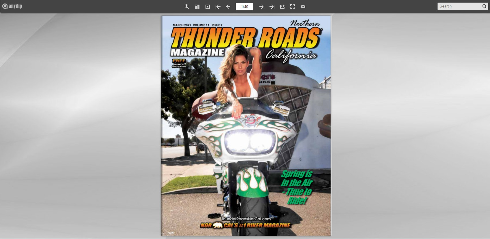 Thunder Roads NorCal March 2021 Issue