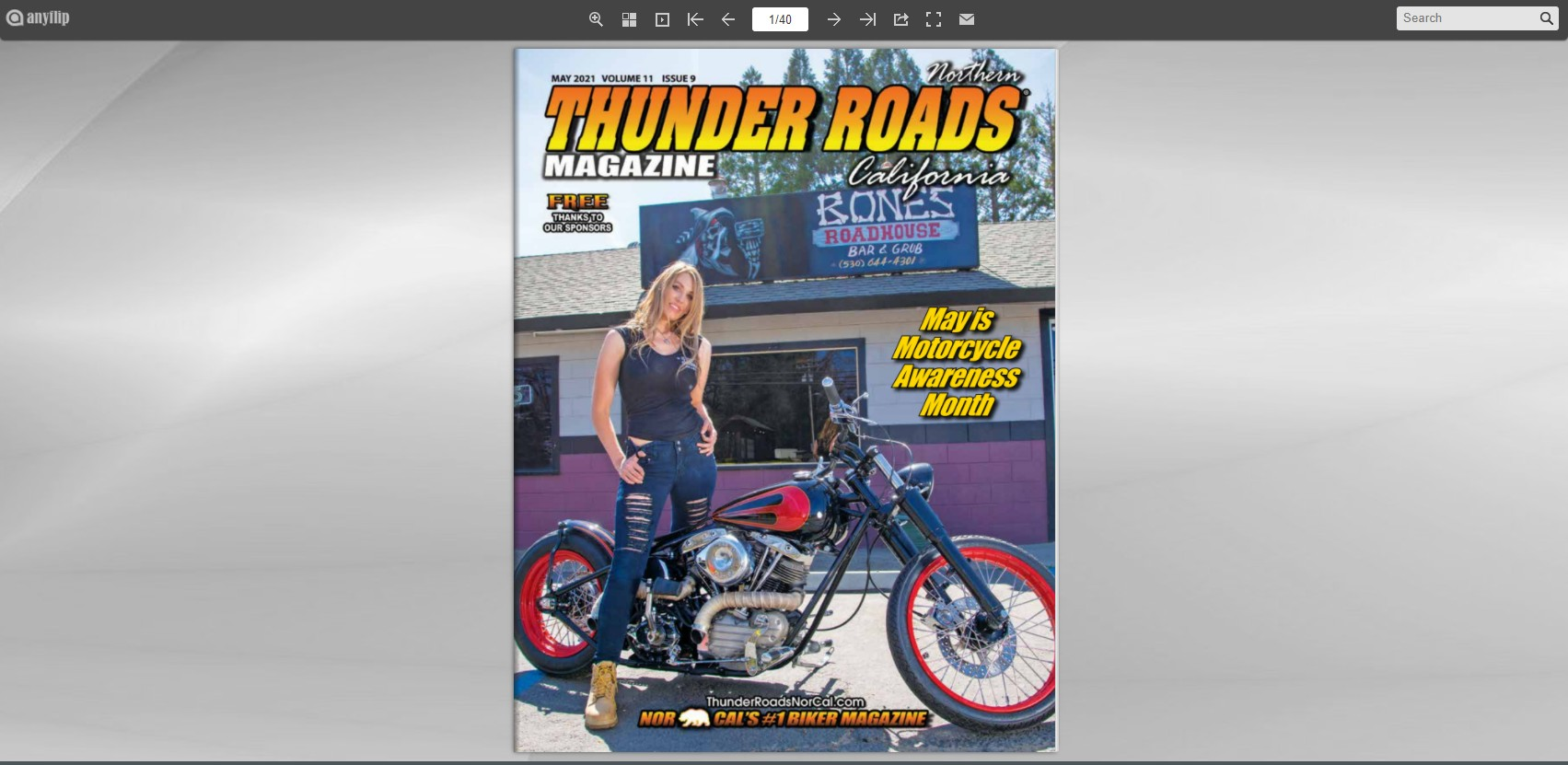 Thunder Roads NorCal May 2021 Issue