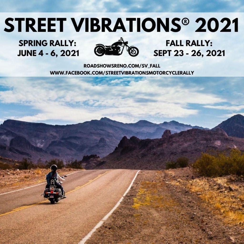 Street Vibrations 2021 Spring Rally & Fall Rally