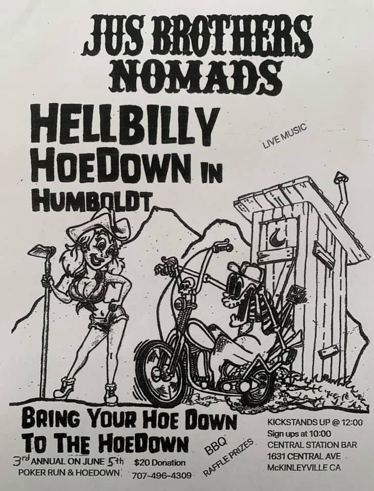Jus Brothers Nomads Hell Billy Hoedown