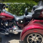 TRI-GLIDE and a BAGGER to Willow Creek | Riding Humboldt County