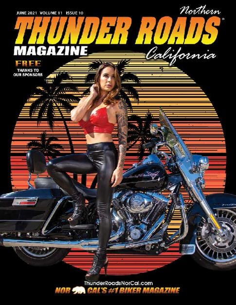 Thunder Roads NorCal June 2021 cover
