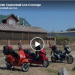 Scooter Cannonball 2021 Finish Line LIVE VIDEO - Maine to Eureka, CA