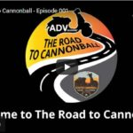 The Road to Scooter Cannonball - Episode 001   Bar Harbor, Maine to Eureka, CA