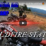 Harley Davidson ride and talking to victims of the wildfires 🔥 | Riding Humboldt County